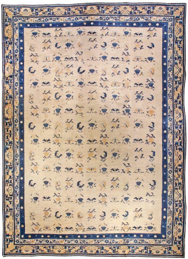 Vintage chinesische Teppich BB3574