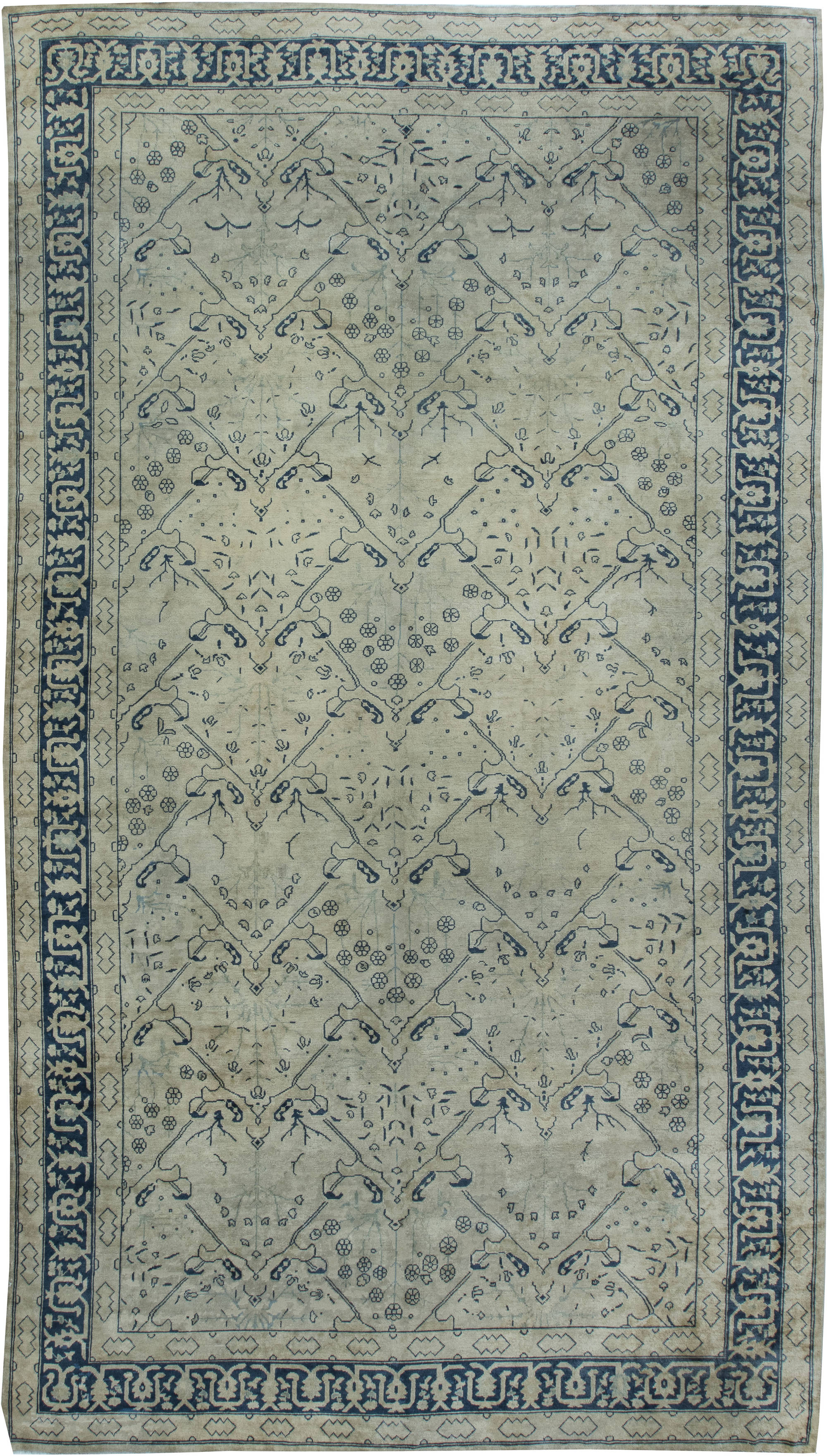 Vintage Chinese Carpet BB3749