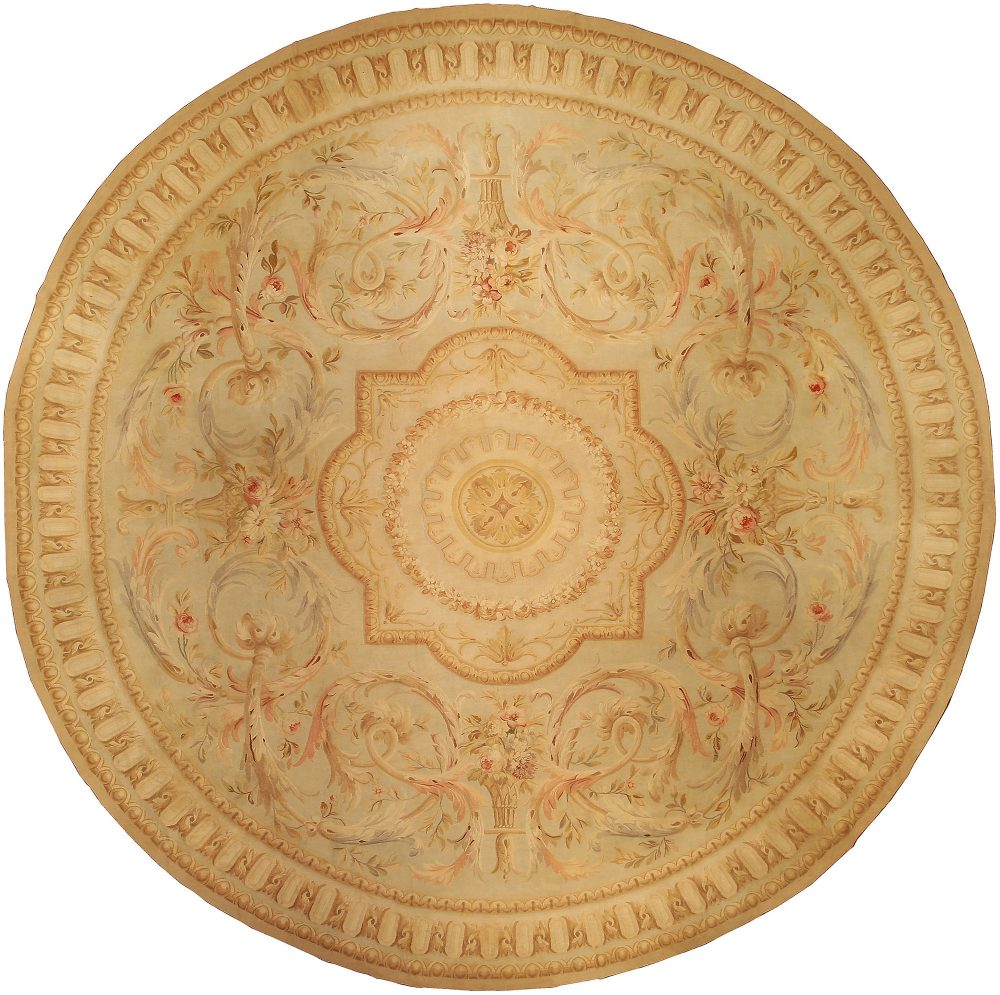 Aubusson Circle Carpet BB0135