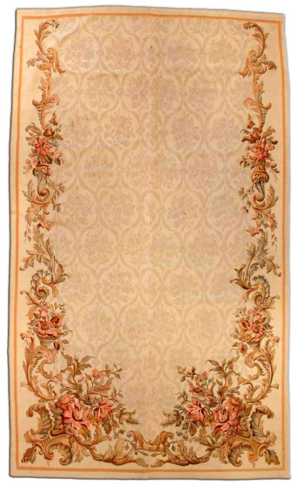 Antique French Aubusson Rug BB2930