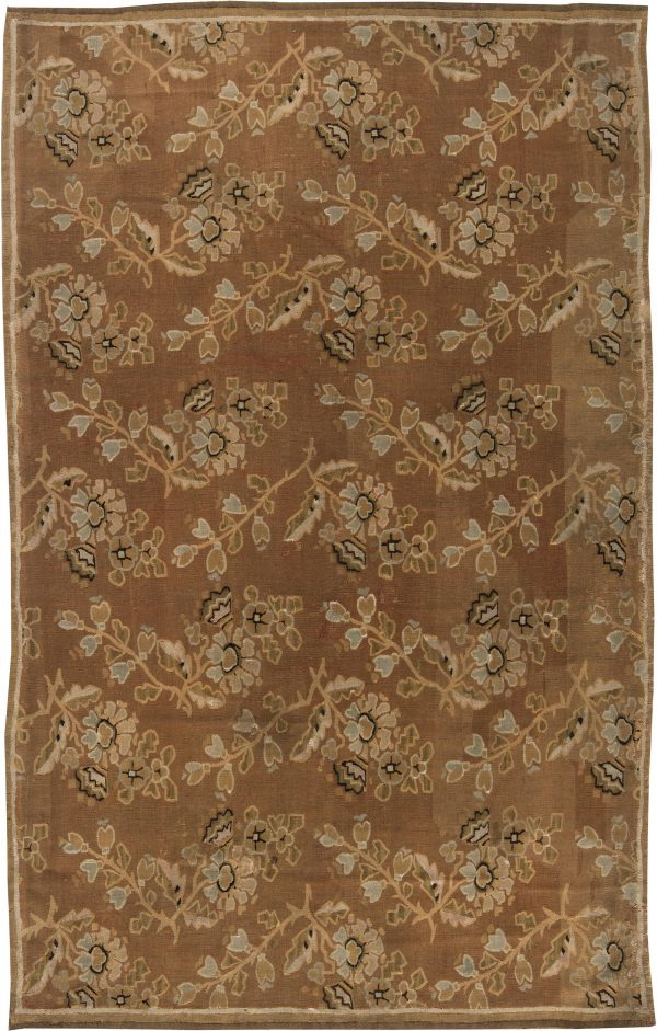Antique French Aubusson Rug BB0639