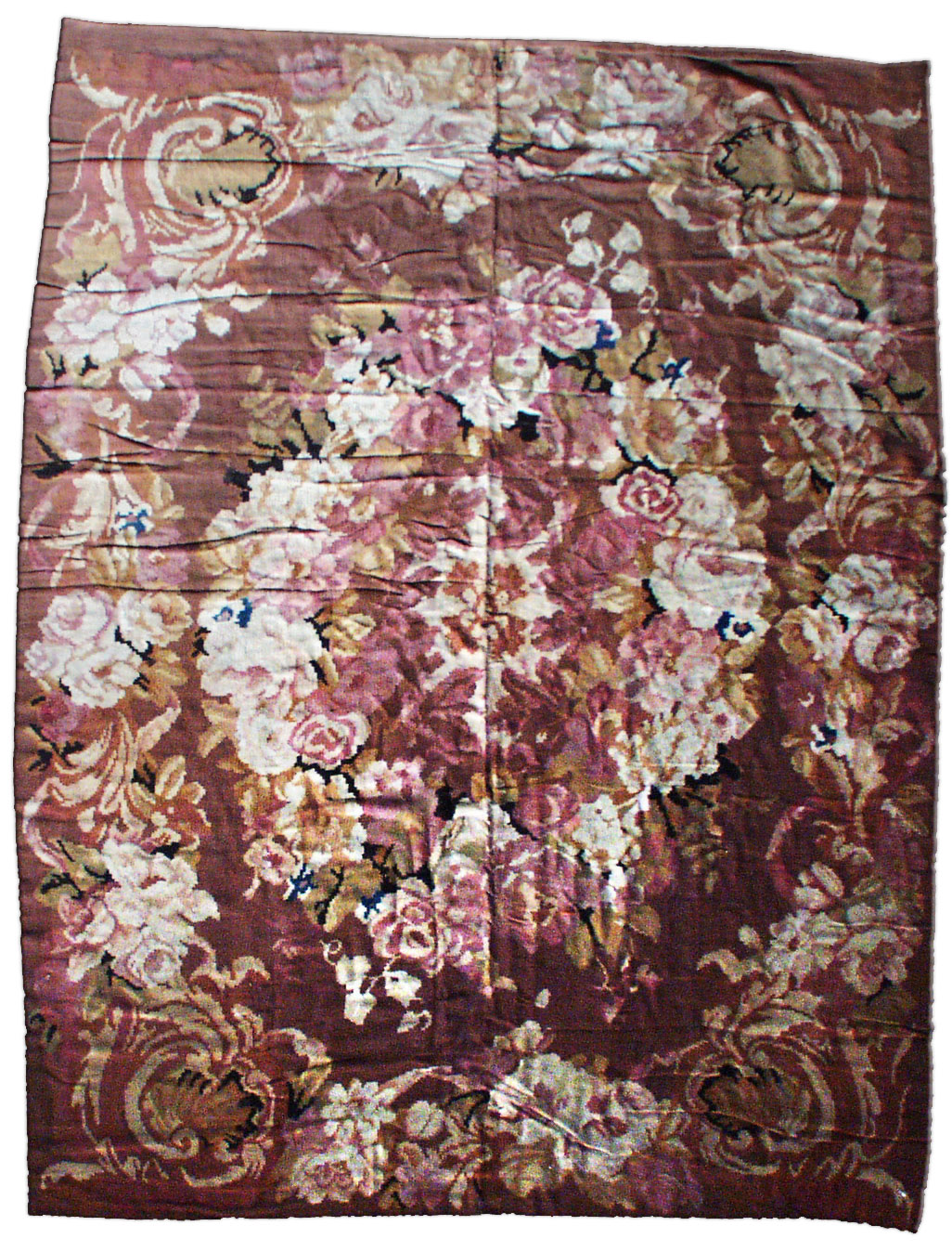 French Aubusson Rug BB2142