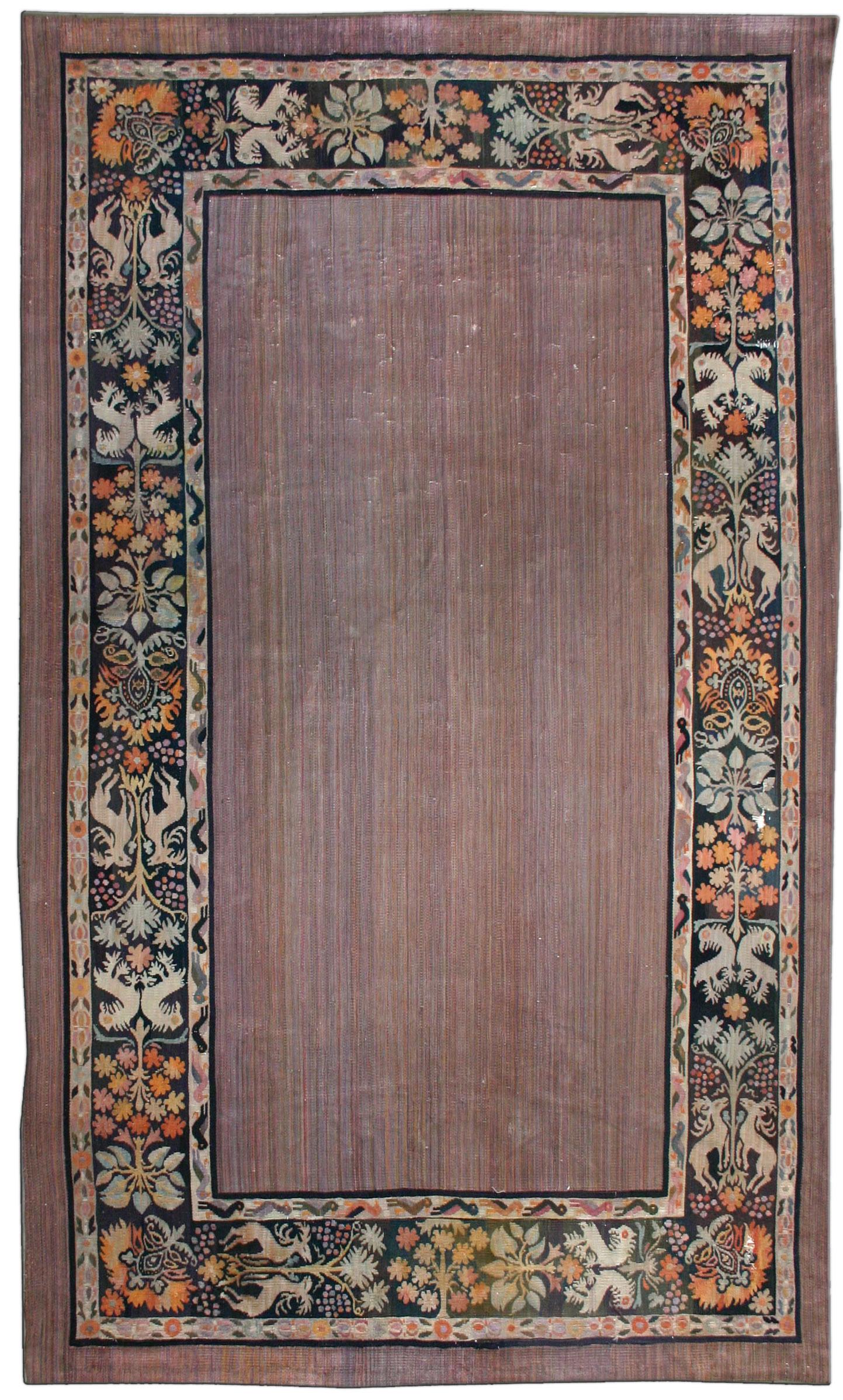 Vintage Aubusson Carpet BB2542