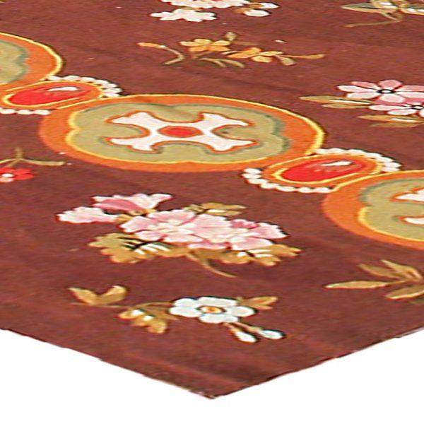 Antique French Aubusson Carpet BB0195