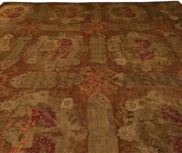 Vintage French Savonnerie Rug BB4272
