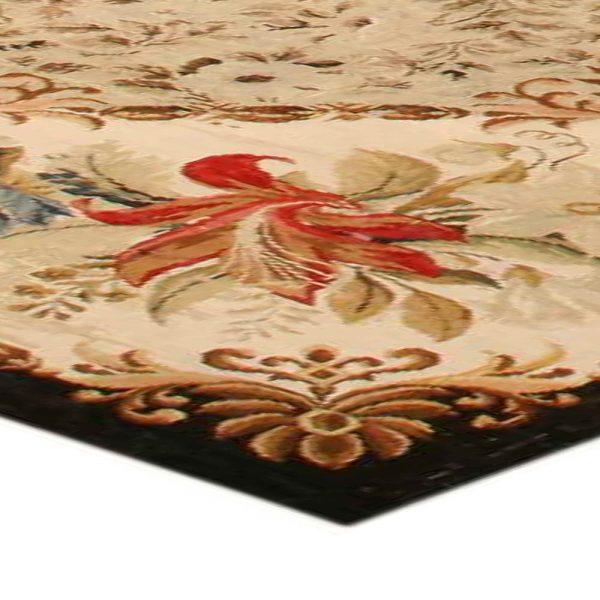 Antique needlepoint Carpet BB0648