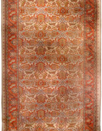 Antique English Axminster Carpet BB1162
