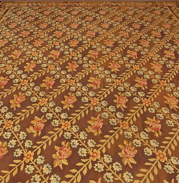 Antique French Aubusson Carpet BB4846