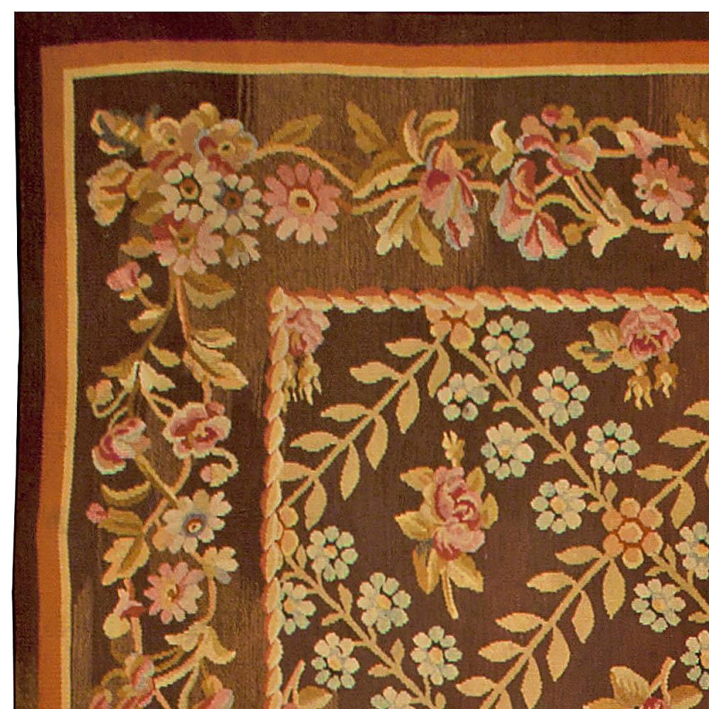 Antique French Aubusson Carpet BB4846