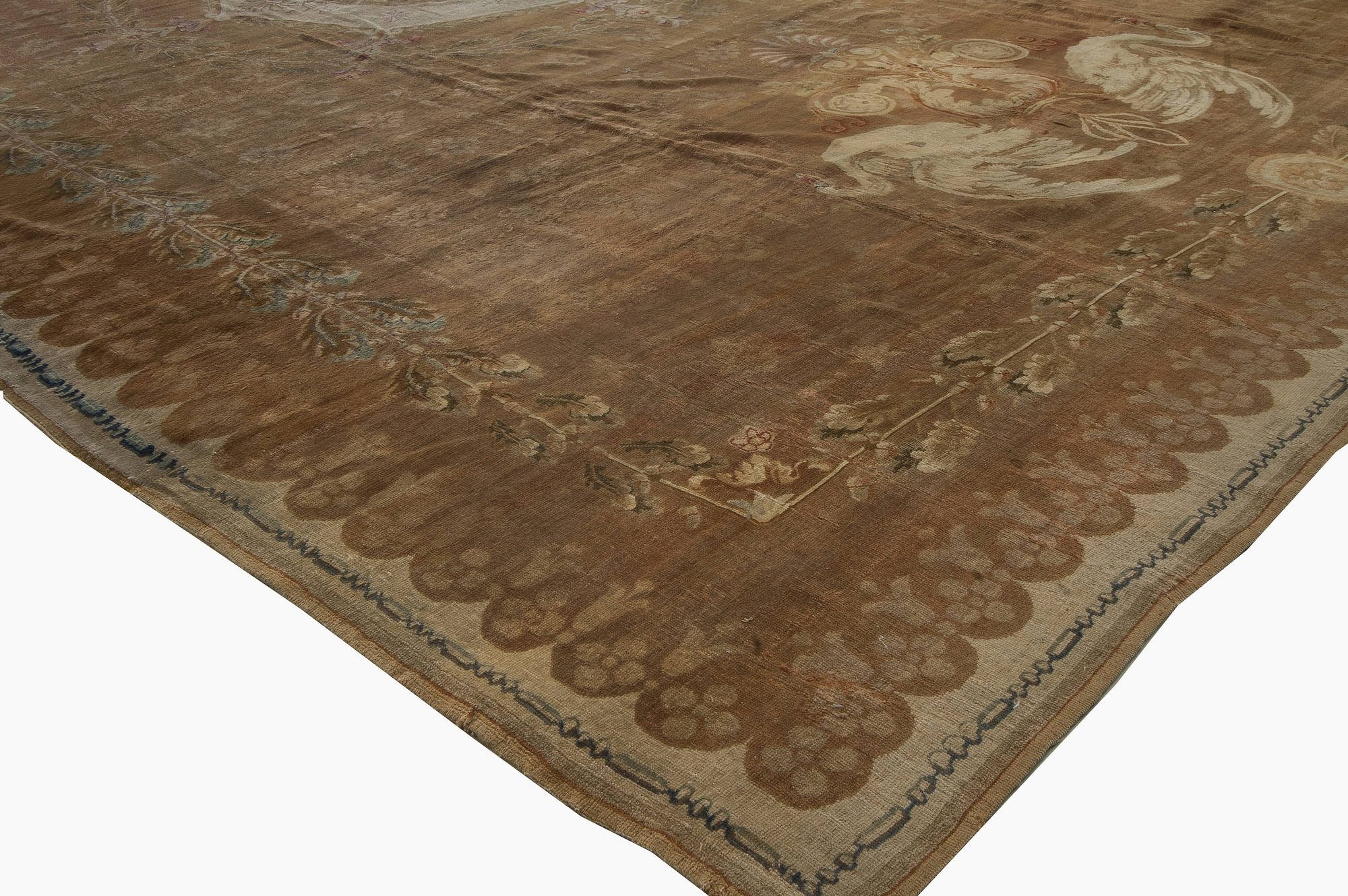 Oversized Antique French Directoire Savonnerie Carpet BB5178
