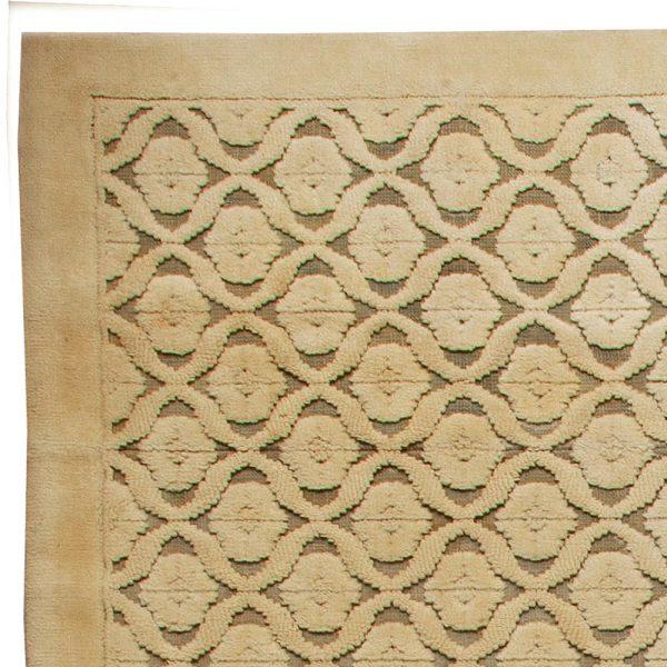 Vintage-Französisch Modernist Teppich BB5644