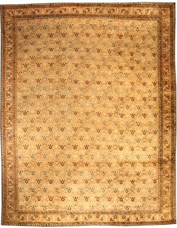 Large Vintage Indian Agra Rug BB3796