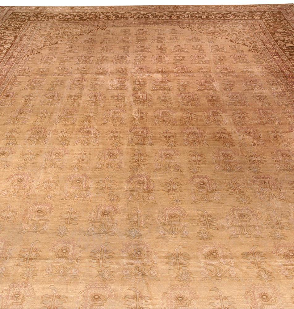 Antique Washed Indian Amritsar Rug BB0905