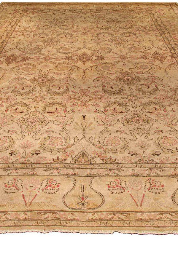Antiguidade indiana Amritsar Carpet (tamanho ajustado) BB4269