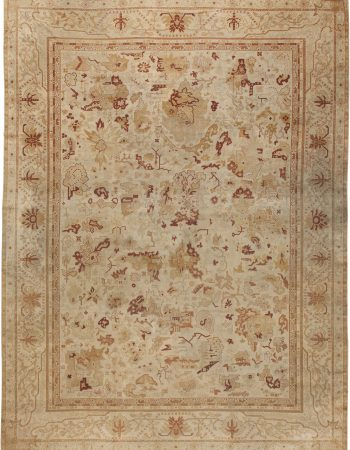 Oversized Antique Indian Amritsar Rug BB4423