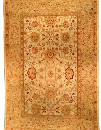 Antique Indian Amritsar Rug (size adjusted) BB4485