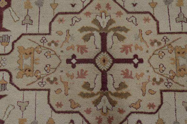 Antique Indian Amritsar Rug BB4685
