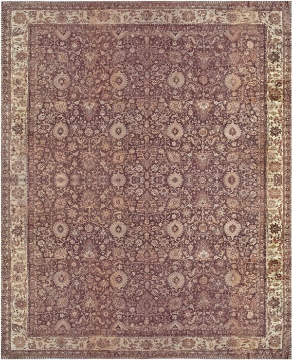 Oversized Antique Indian Amritsar Carpet BB2996