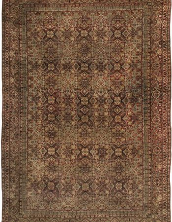 Antique Indian Amritsar Carpet BB1892