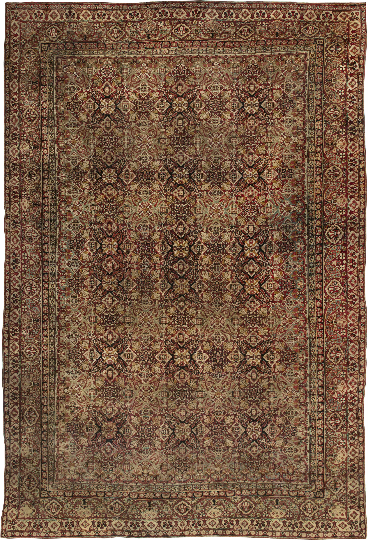 Antique Indian Amritsar Carpet BB1892