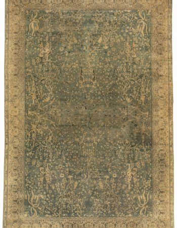 Antique Indian Rug BB4855