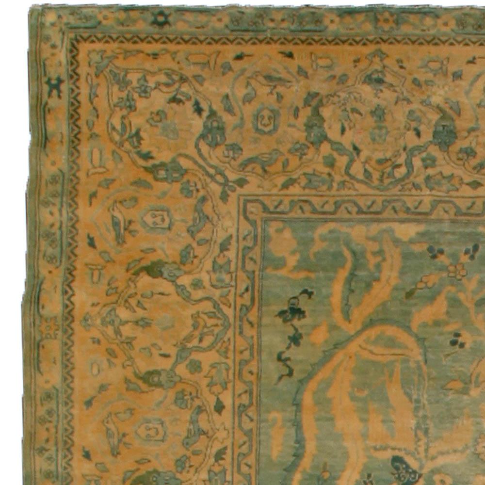Antique Indian Rug BB4855