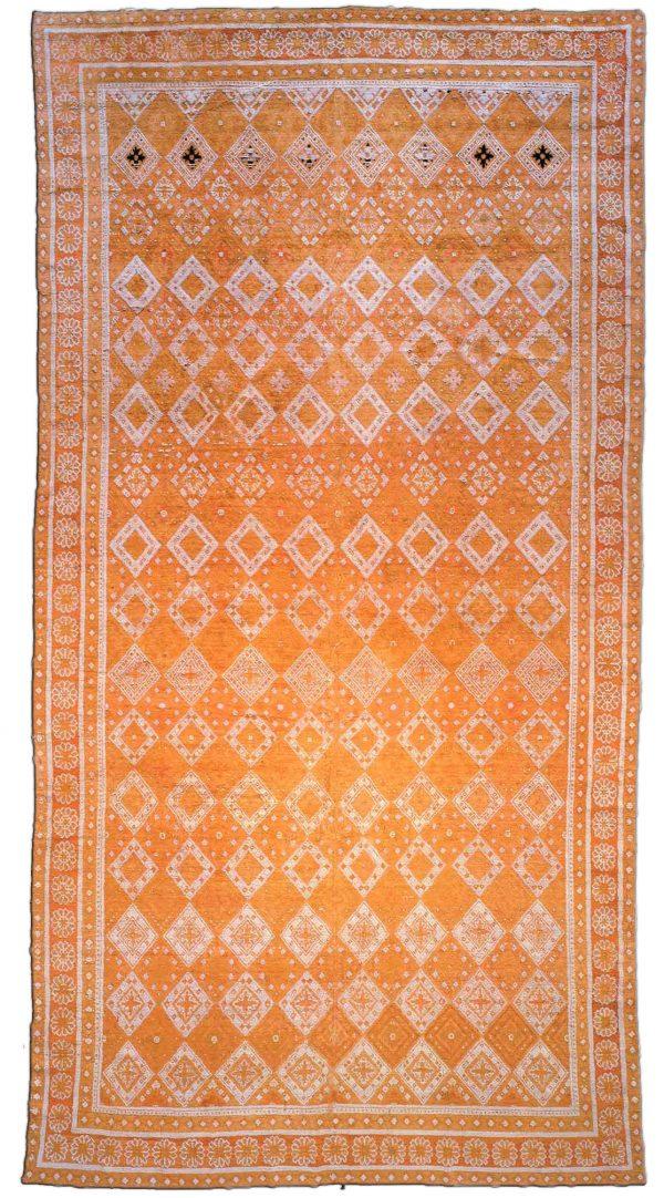 Antique Indian Cotton Agra Rug BB1843