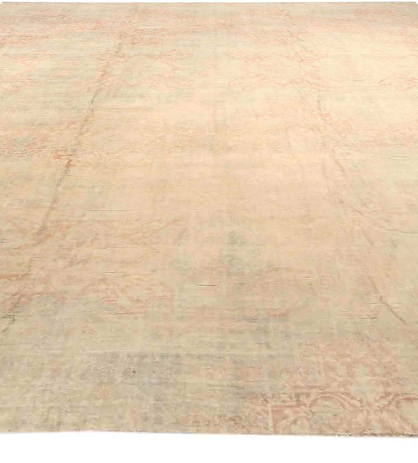Antique Indian Cotton Agra Carpet BB3066