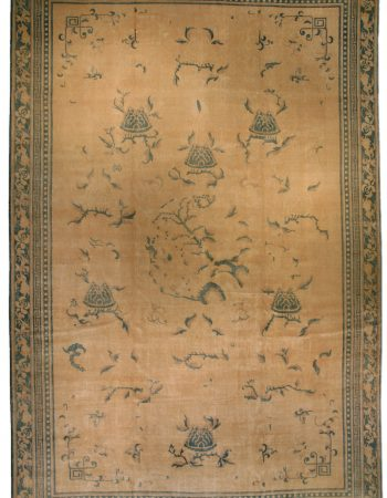 Antique india Alfombra BB3615