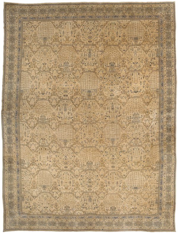 Oversized Antique North Indian Rug BB3110