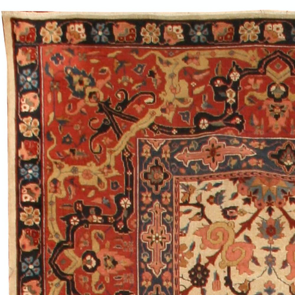 Antique Indian Amritsar Rug BB4513