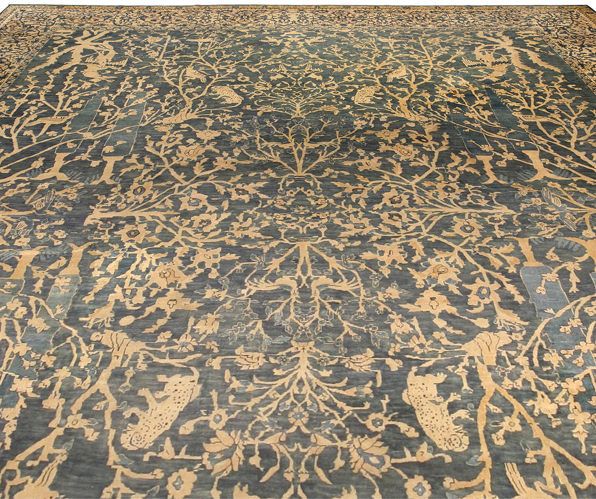 Antique Indian Rugs: Antique Indian Rug BB4444 By Doris Leslie Blau