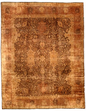 Antique Indian Carpet (size adjusted) BB0670