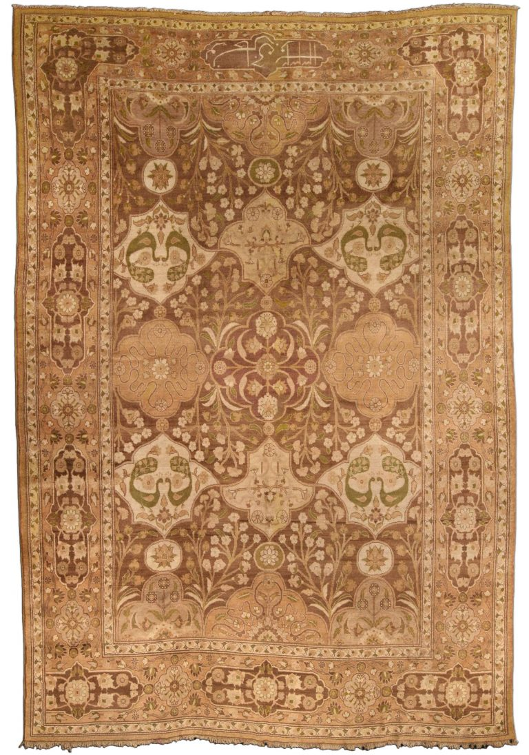 Antique Indian Carpet Bb4191 By Doris Leslie Blau