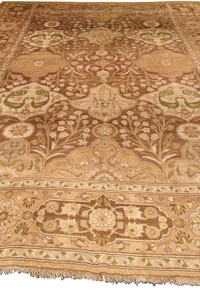 Antique Indian Carpet Bb4191 By Dlb