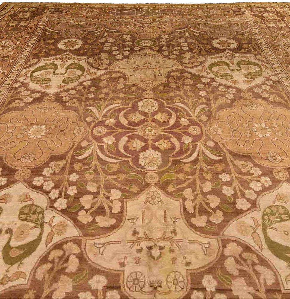 Antique Indian Carpet Bb4191 By Doris Leslie Blau