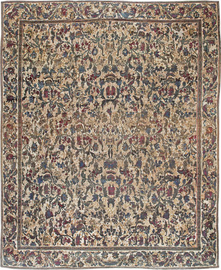 Oversized Antique Indian Carpet BB0920 By Doris Leslie Blau