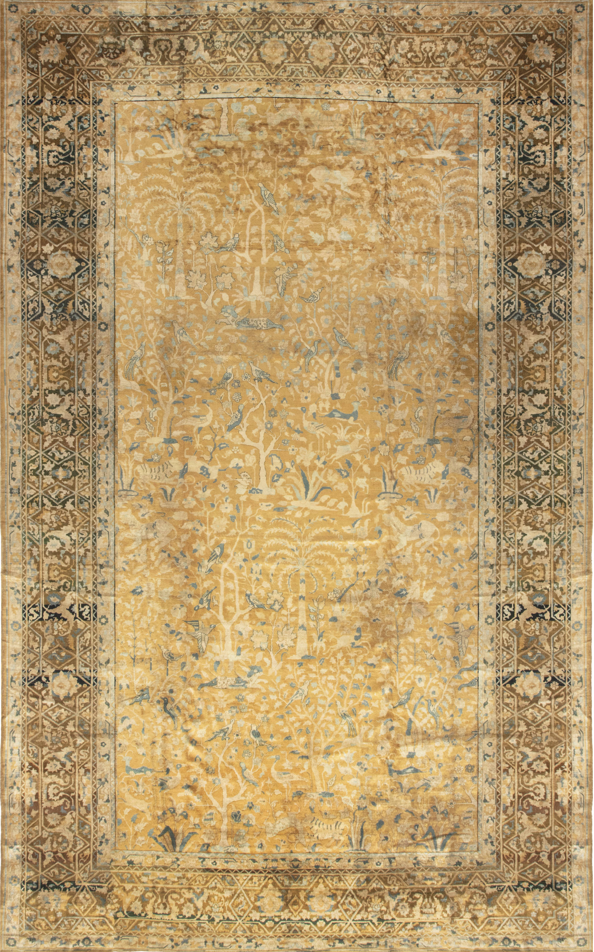 Antique Indian Carpet BB3159