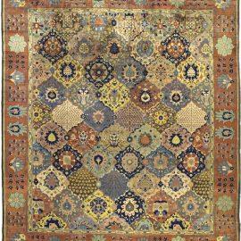 Antique Indian Rug (Size Adjusted) BB3462