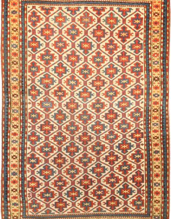 Antique Kazak Rug BB4749