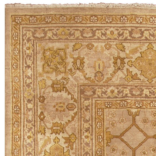 Antique Indian Amritsar Rug BB4881
