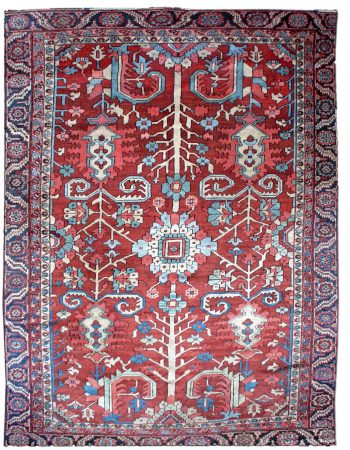 Antique Persian Heriz Rug BB1044