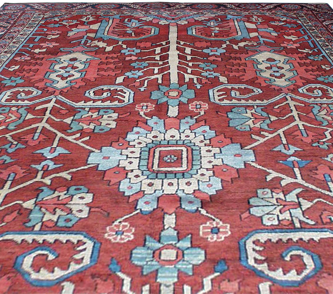 Antique Persian Heriz Rug BB1044