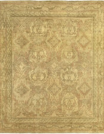 Vintage Oushak Carpet BB5226