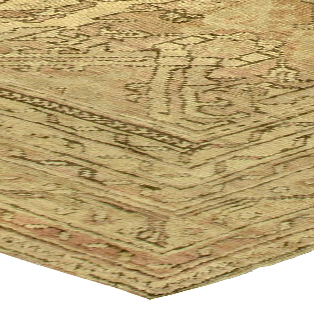 Vintage Oushak Carpet BB5226