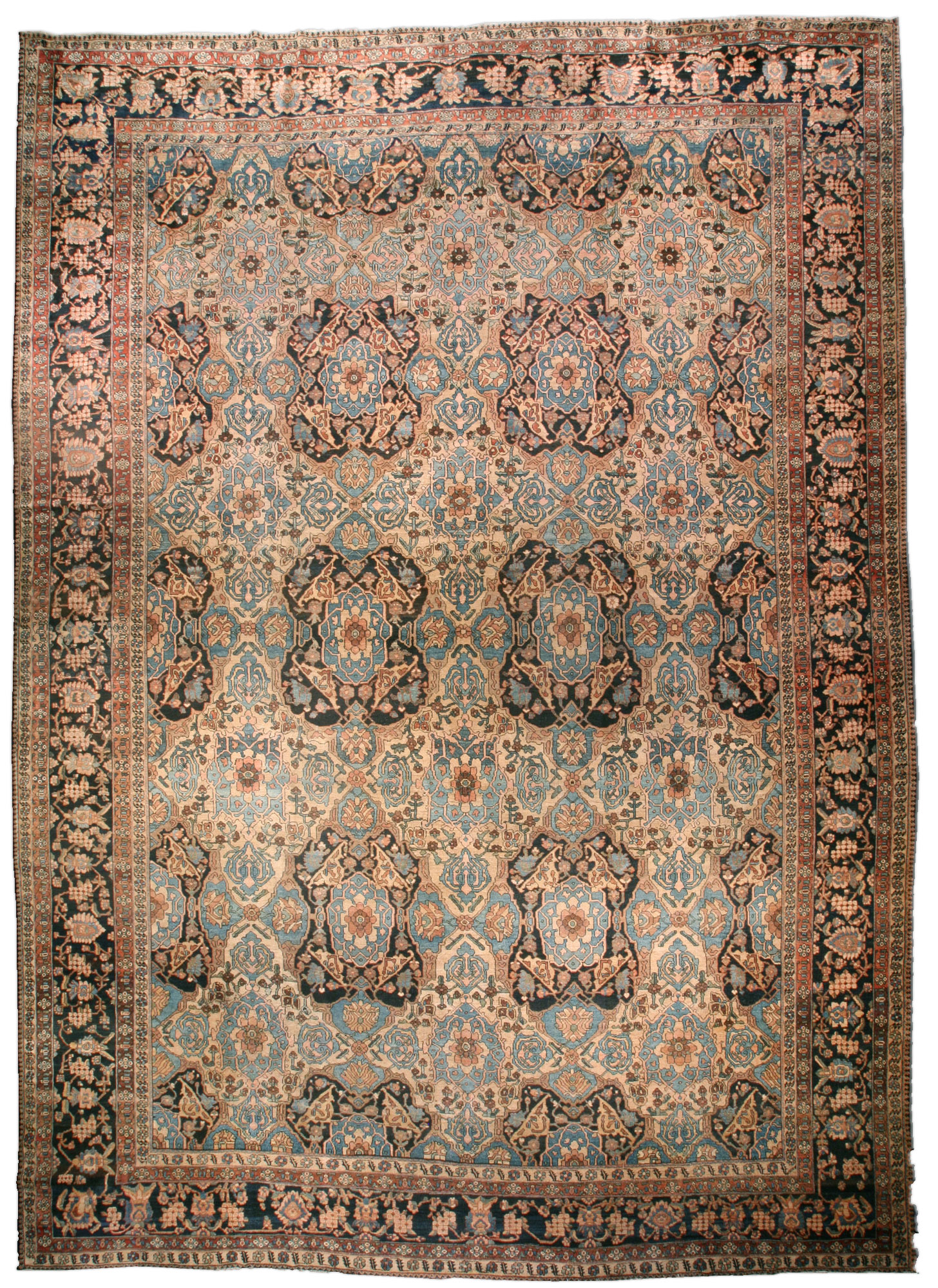Persian Bakhtiari Carpet BB3590