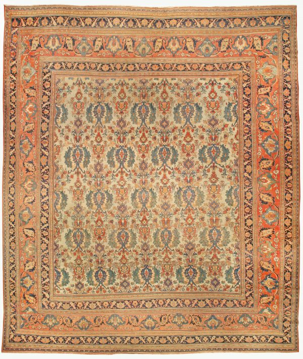 Large Antique Persian Khorassan Rug BB4297