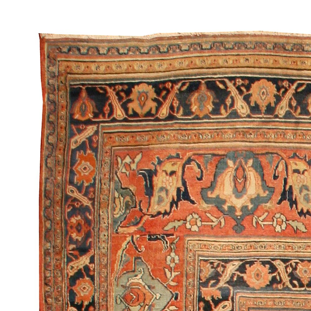 Large Antique Persian Khorassan Rug BB4297