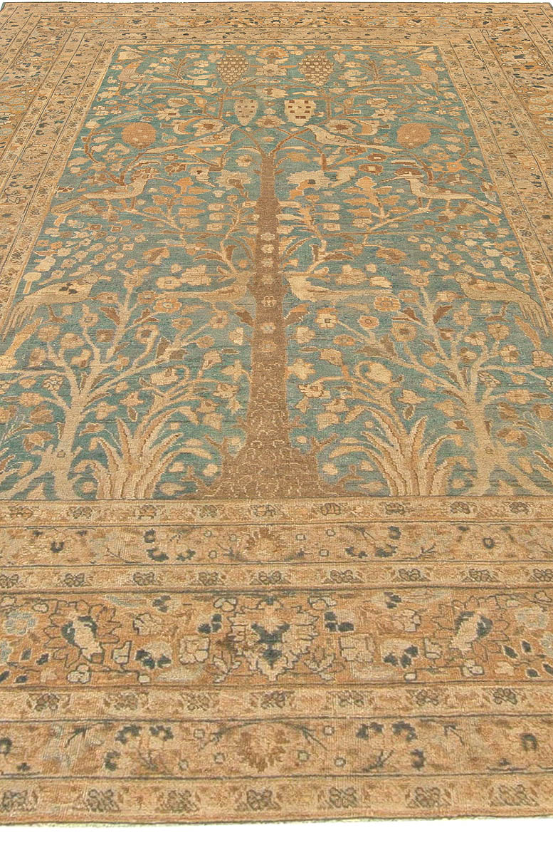 Antique Persian Khorassan Rug BB5944