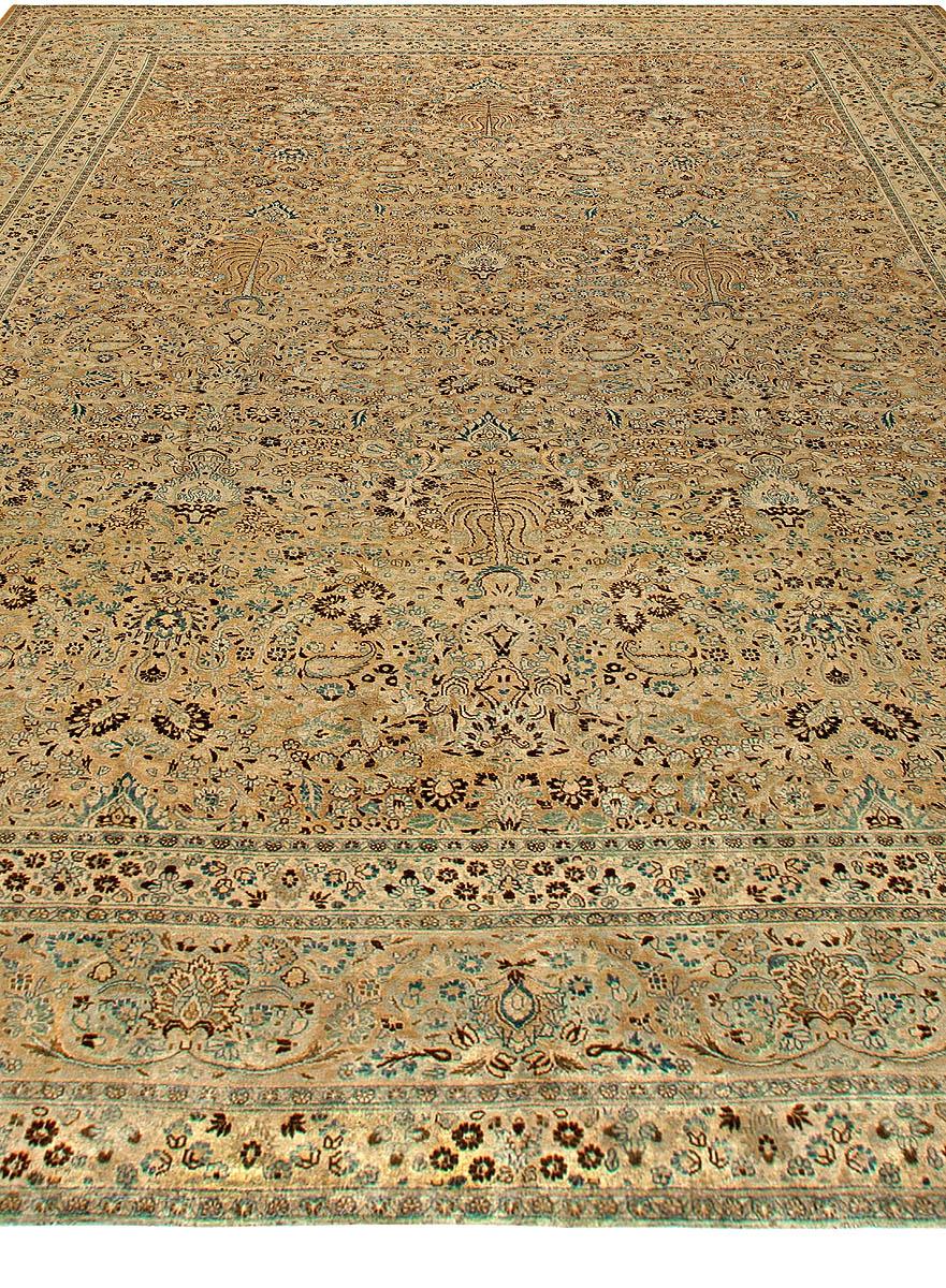 Oversized Antique Persian Khorassan Rug BB5814